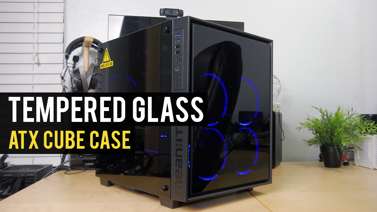 A TEMPERED GLASS CUBE CASE! | mean:it 4PM Review