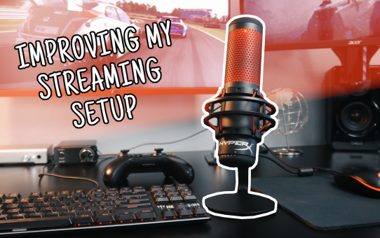 Improving my Streaming Setup with this...Pt. 1 | HyperX QuadCast USB Microphone